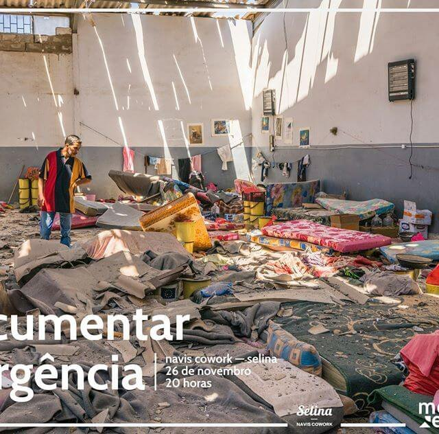 documentar a urgência - cartaz