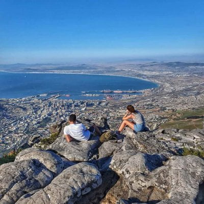 Table Mountain, a imponente 'marca' da Cidade do Cabo