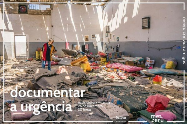 documentar a urgência - cartaz